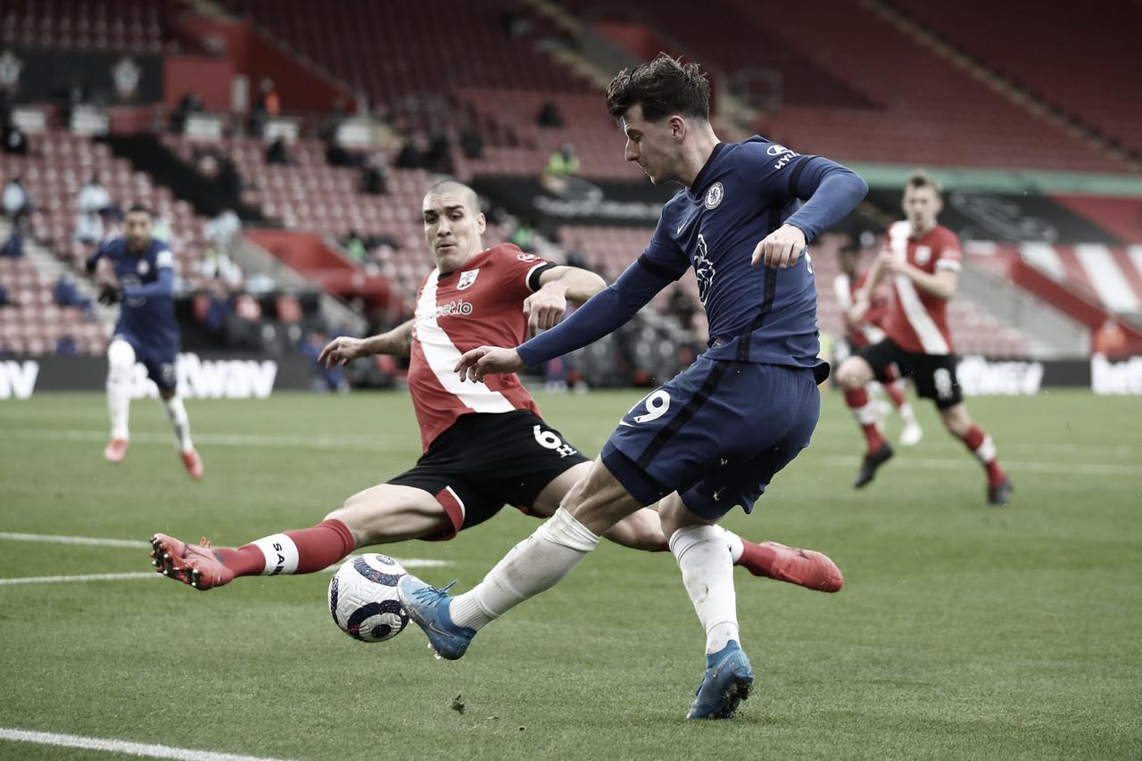 Jogo duro: Southampton e Chelsea ficam no empate