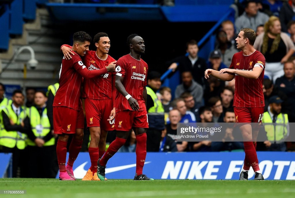 Chelsea 1-2 Liverpool - Streetwise Reds outmanoeuvre Lampard's Blues to maintain perfect start