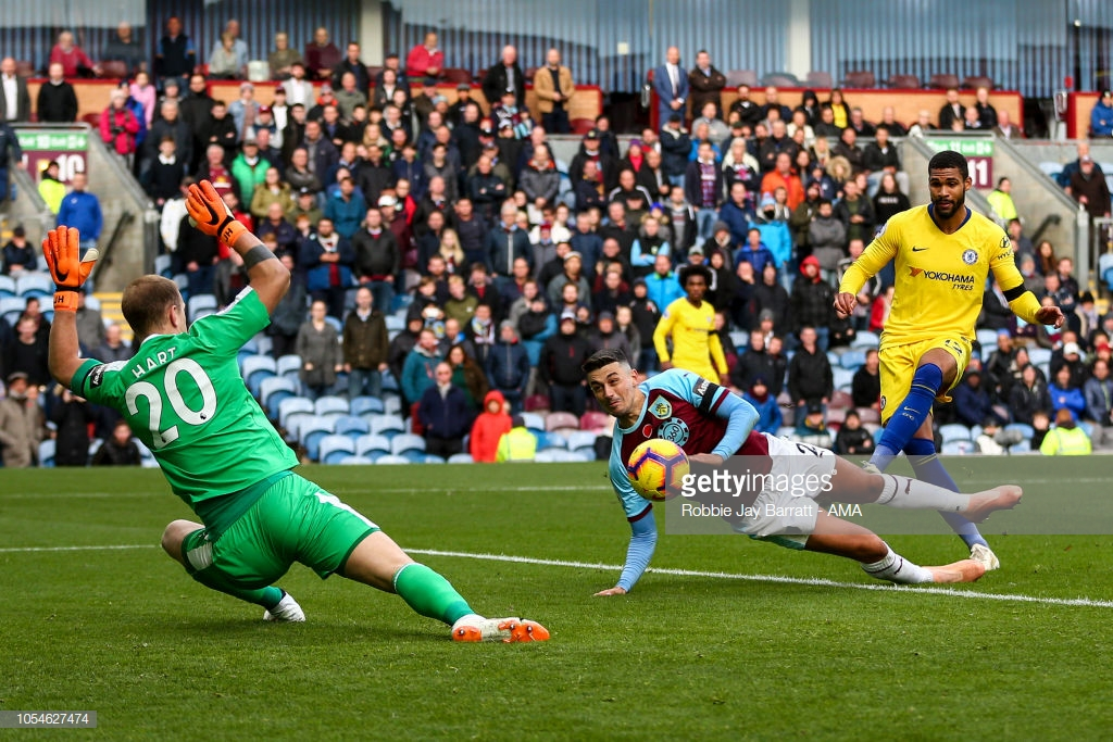 Burnley 0-4 Chelsea: Clarets comfortably beaten by classy Chelsea