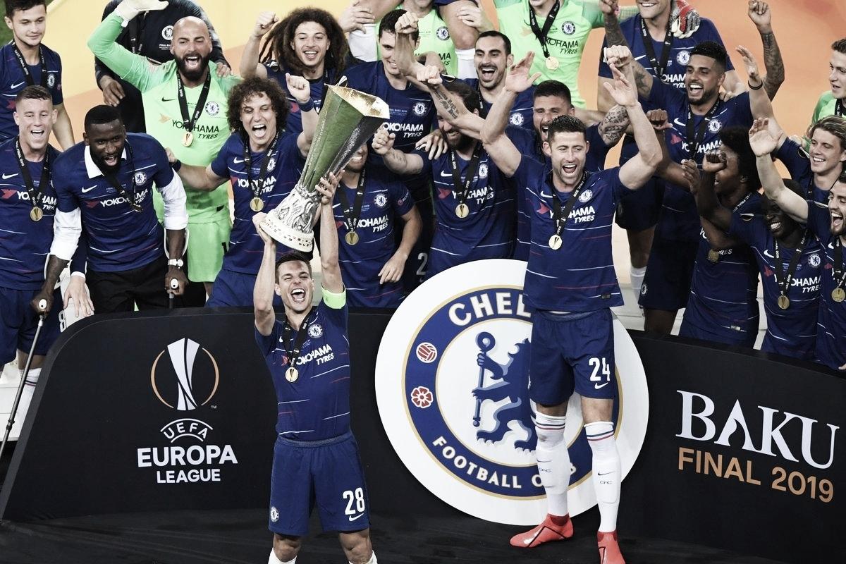 É campeão! Com show de Hazard, Chelsea goleia o Arsenal e conquista a Europa League