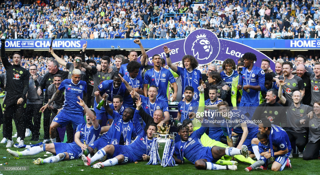Every time Chelsea have topped the Premier League in the October International Break