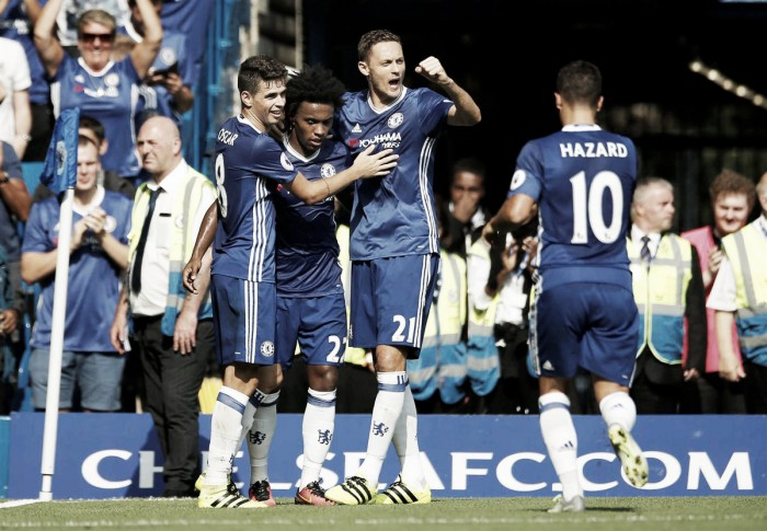 Chelsea vence Burnley com tranquilidade e assume liderança da Premier League