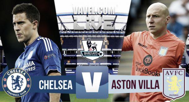 Result Chelsea - Aston Villa in EPL 2015 (2-0)