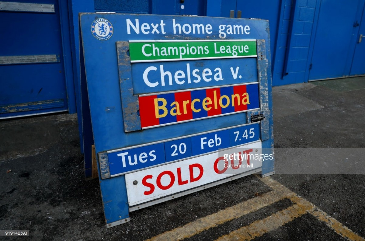 Champions League Live: Text score updates as Chelsea host Barcelona and Bayern look to see off ...