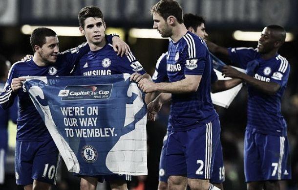 Il Chelsea batte il Liverpool e vola in finale di Capital One Cup. Decisivo un gol di Ivanovic