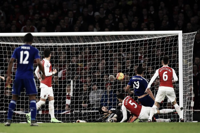 Premier League, Diego Costa e il Chelsea puniscono un Arsenal ingenuo (0-1)