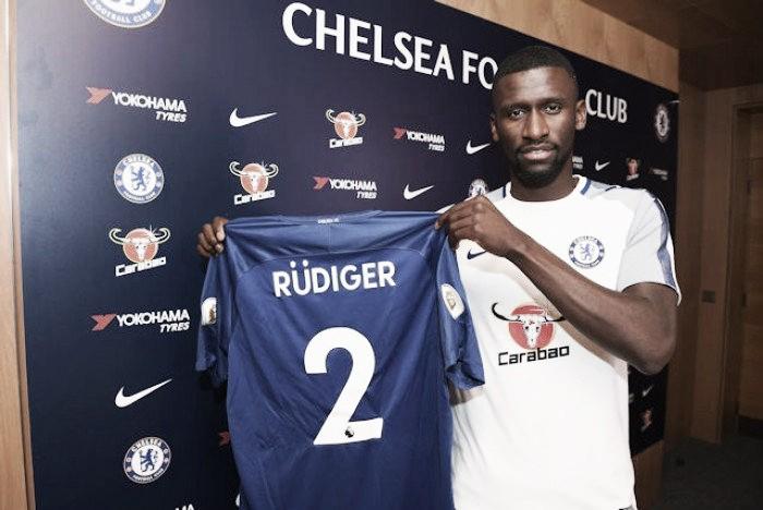 Chelsea confirma contratação do zagueiro Rüdiger, ex-Roma