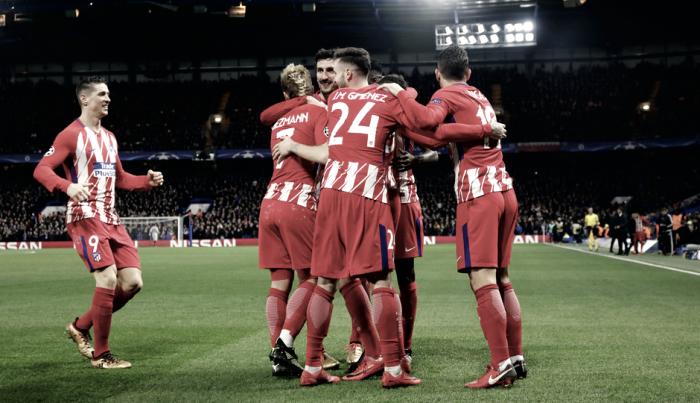 Chelsea - Atlético de Madrid: puntuaciones del Atlético de Madrid, 6ª jornada de la fase de grupos de la Champions League