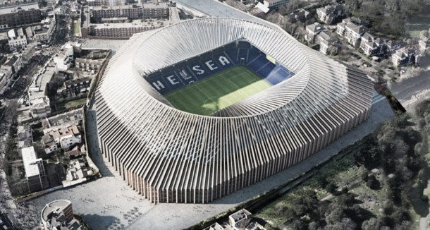 Chelsea reveal plans for 60,000-seater stadium