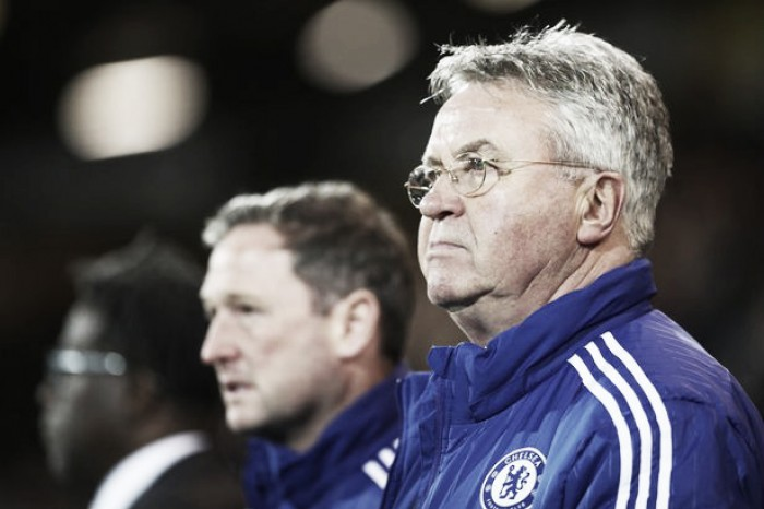 Chelsea's Guus Hiddink aiming for Europe after Norwich win