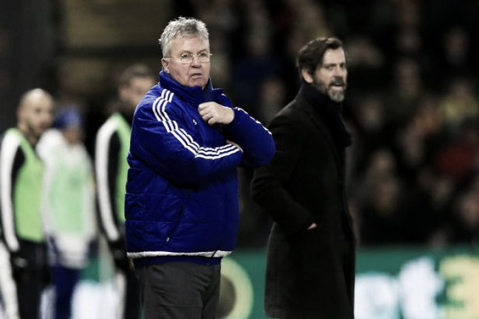 Hiddink writes off Chelsea's top four chances after Stoke stalemate
