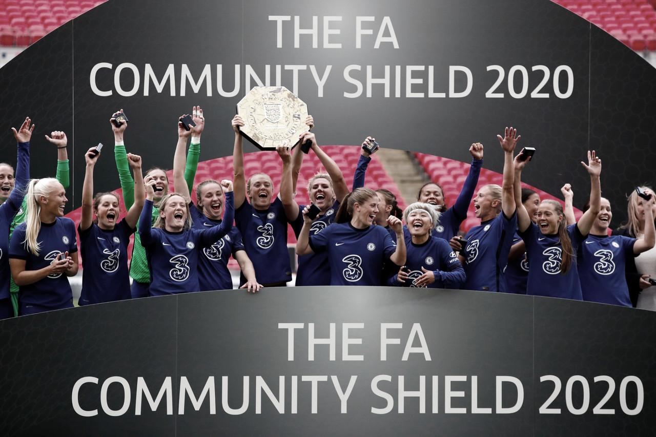 É campeão! Chelsea vence Manchester City e fatura título na Community Shield Feminina