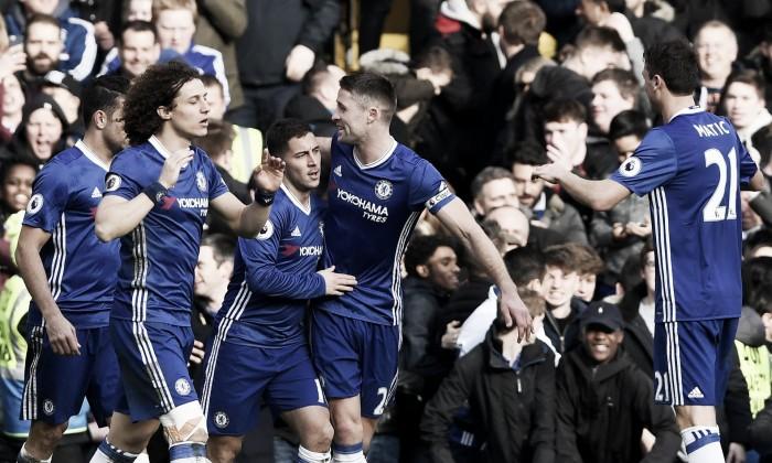 Premier League, il Chelsea fugge: 3-1 all'Arsenal