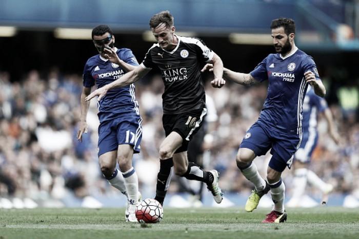 Em clima de amistoso, Chelsea e Leicester ficam no empate