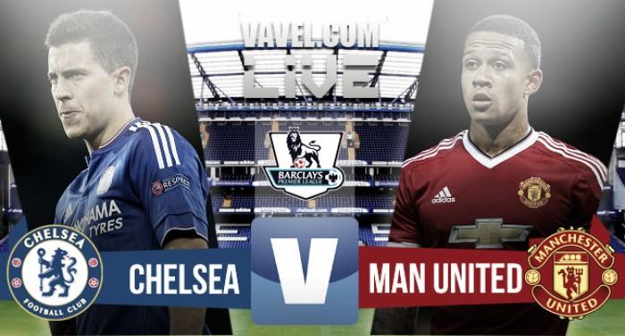 En vivo: Chelsea 0-1 Manchester United 2016 online en Premier League