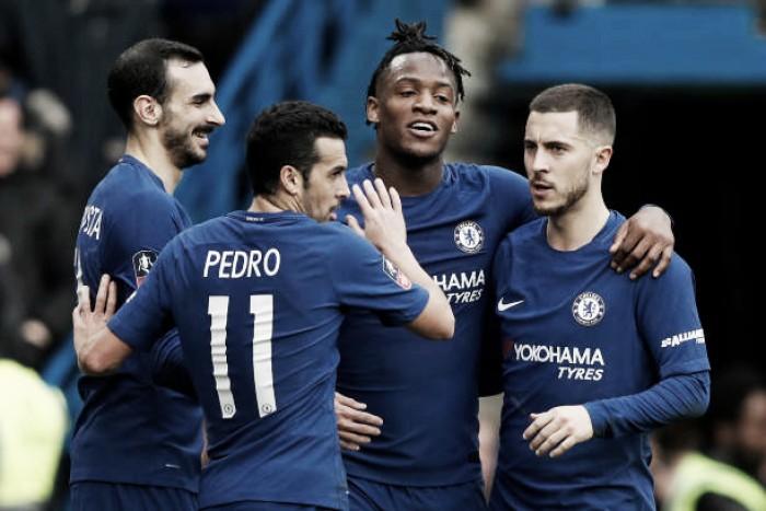 Taça Inglaterra: Chelsea ultrapassa Newcastle com