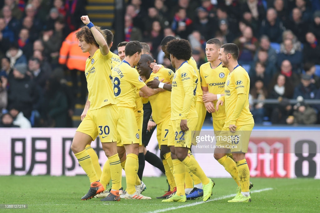 Crystal Palace 0-1 Chelsea: Uninspiring Eagles defeated by Kante goal