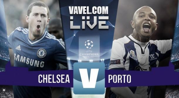 Live Chelsea - Porto, risultato Champions League 2015/2016  (2-0)