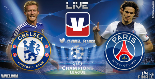 Live Champions League : le match Chelsea - PSG en direct