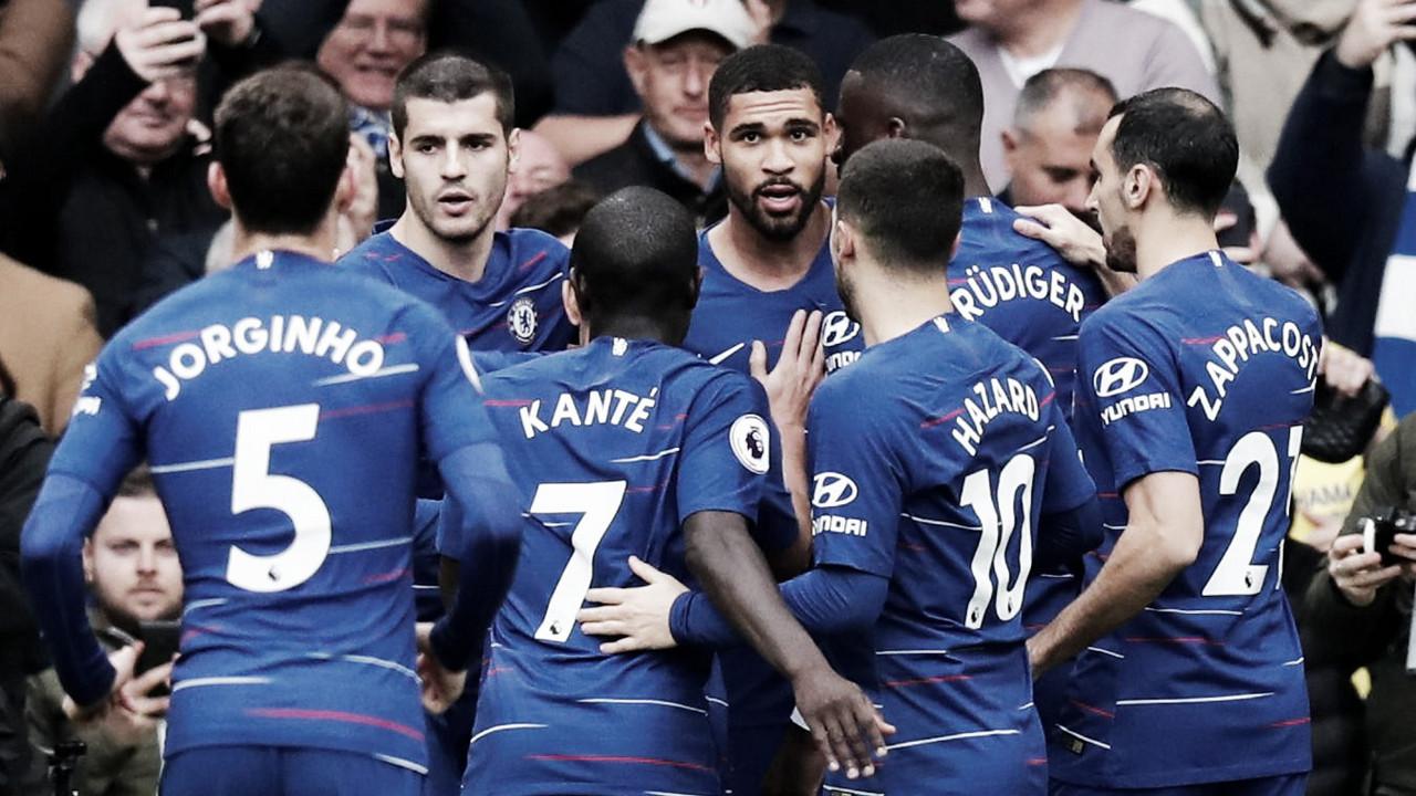 El Chelsea se rencuentra con la victoria en Stamford Bridge