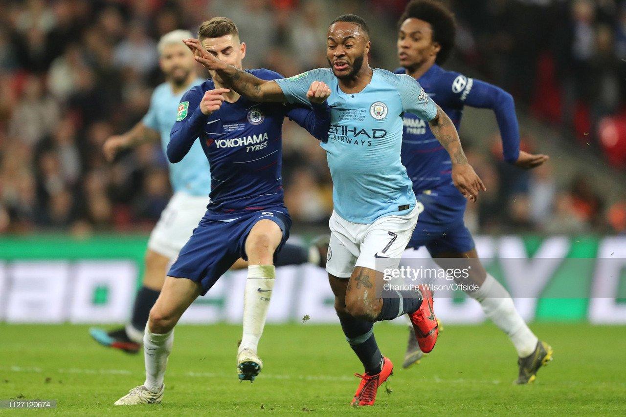 Manchester City vs Chelsea: last five meetings