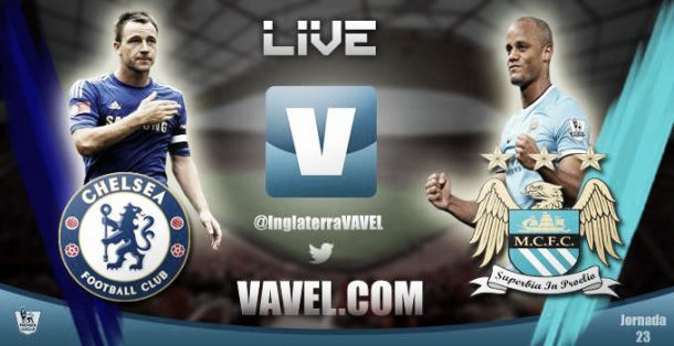 Chelsea vs Manchester City en direct commenté: suivez le match en live