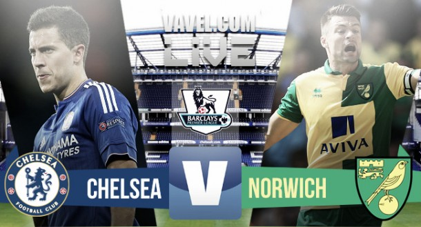 Score Chelsea vs Norwich City 2015 Premier League (1-0)
