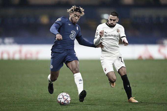 Werner marca dois, Chelsea derrota Rennes e se aproxima da oitavas de final