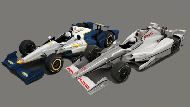 Indycar Chevrolet Honda