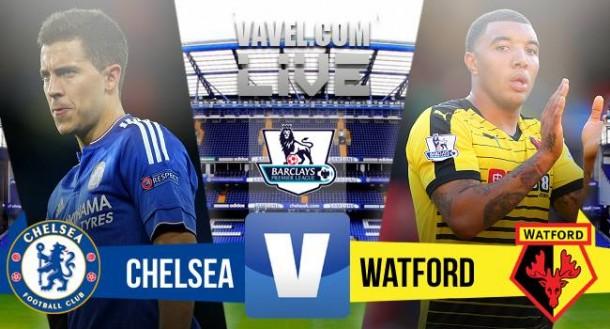 Live Chelsea - Watford (2-2) in Premier League 2015/16