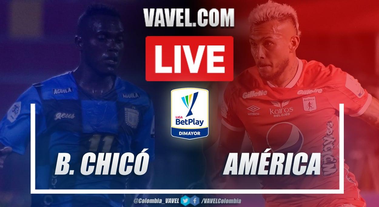 Resumen Boyacá Chicó vs América (1-2) por la Liga BetPlay