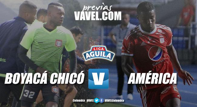 Previa Boyacá Chicó vs América: un duelo de aspirantes a los 'playoffs'