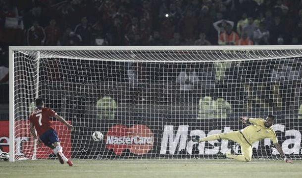 Chile (4) 0-0 (1) Argentina: La Roja win Copa America on penalties in nervy affair