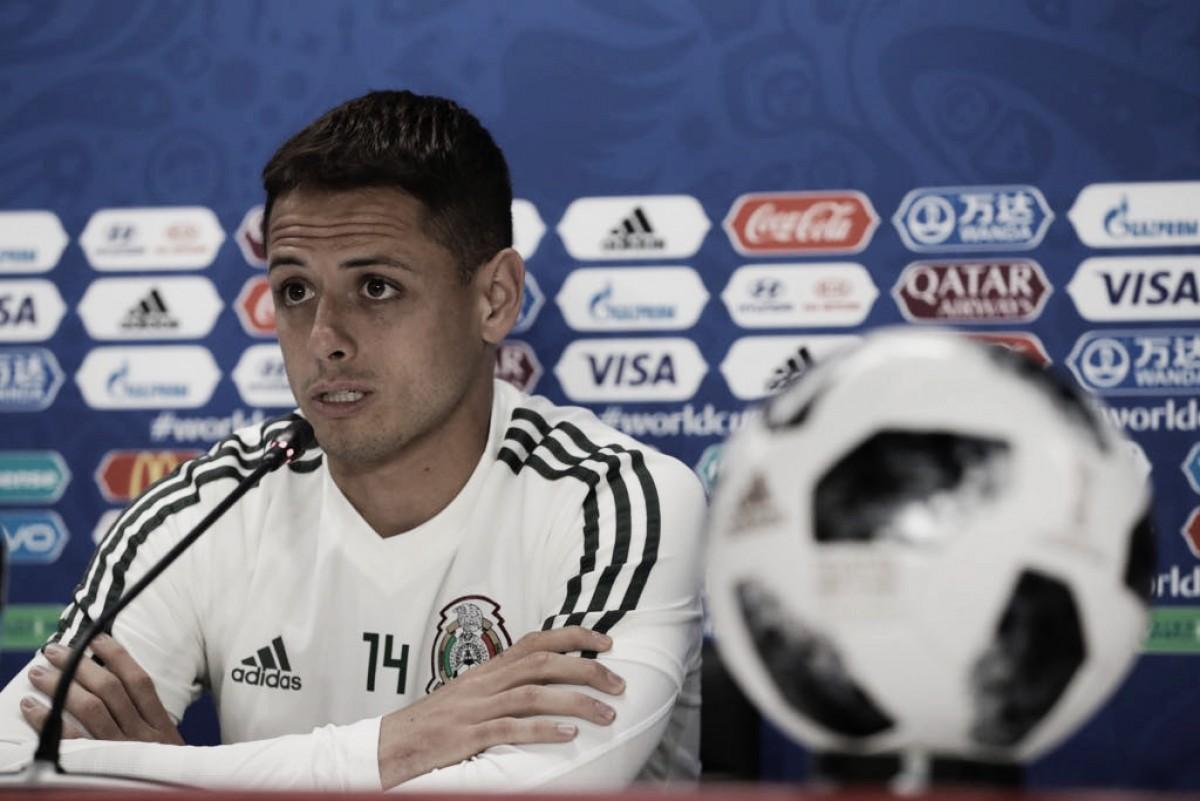 """Javier Hernández: """"Hemos pensado que se puede ser campeón"""""""