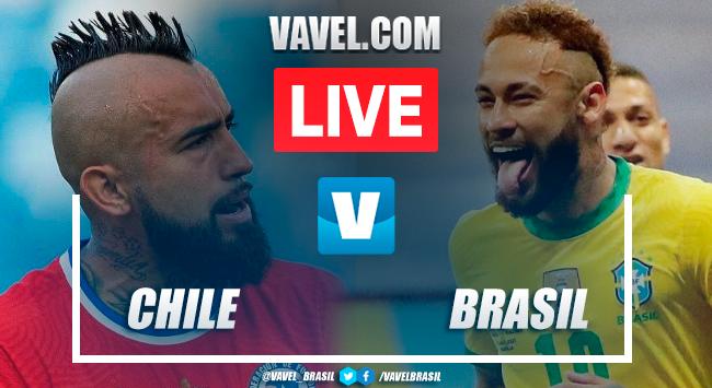 Gols e melhores momentos Chile 0x1 Brasil pelas Eliminatórias da Copa do Mundo 2022