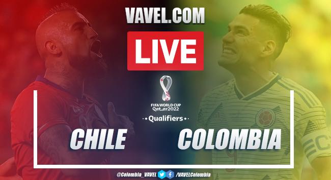 Resumen: Chile vs Colombia (2-2) por eliminatorias Conmebol