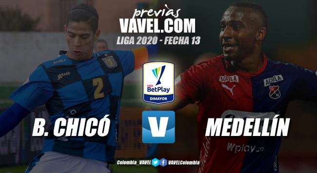 Previa Boyacá Chicó vs Independiente Medellín: a mantenerse en el camino del triunfo