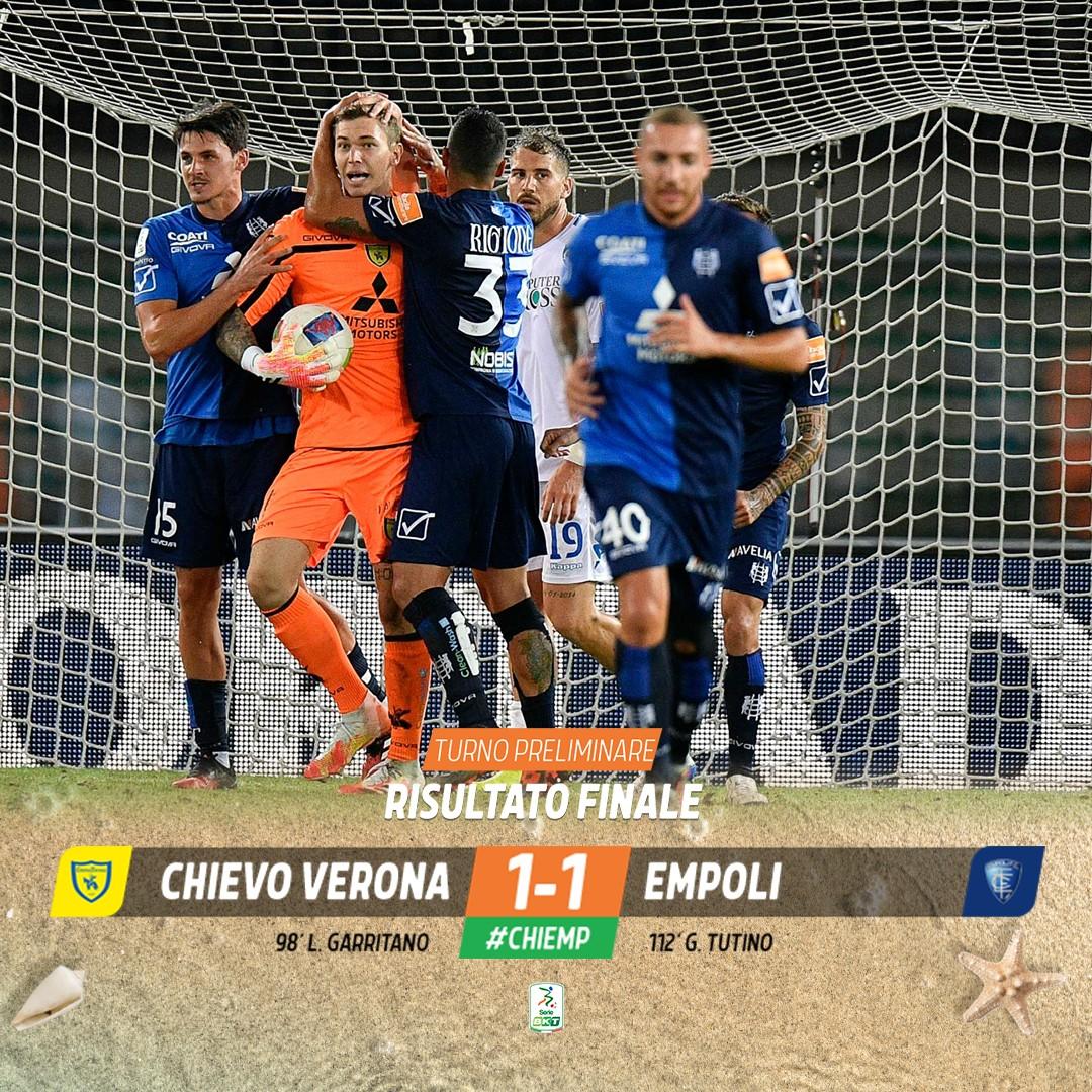 Playoff Serie B - Rimpianti Empoli: dopo 120' passa il Chievo (1-1)