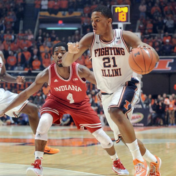 Indiana Holds Off Illinois, 80-74, In Champaign