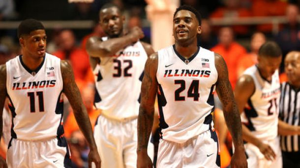 Suspensions Dealt Out to Illini Hoopsters Rayvonte Rice and Aaron Cosby