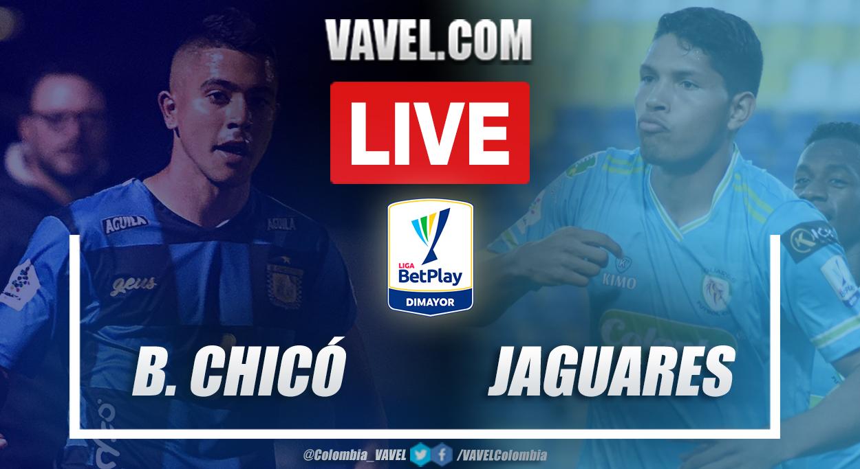 Resumen Boyacá Chicó vs Jaguares (0-0)en la fecha 19 por Liga BetPlay 2021-I