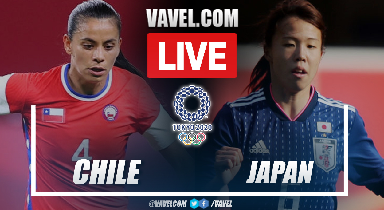 Goals and Highlights: Chile (0-1) Japan Score Updates in Olympic Games Tokyo 2020