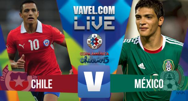 Risultato Cile - Messico, Coppa America2015 (3-3)