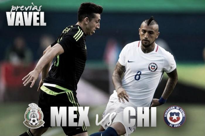 Previa México - Chile: a seguir dominando a los andinos