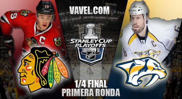 Nashville Predators - Chicago Blackhawks: a despejar dudas