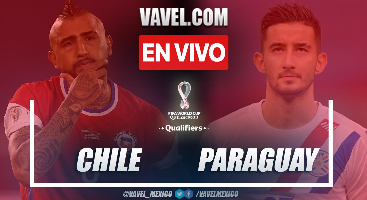 Resumen y goles: Chile (2-0) Paraguay en las Eliminatorias Sudamericanas a Catar 2022