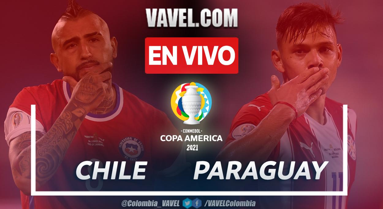 Resumen y goles: Chile 0-2 Paraguay en la fecha 4 del grupo A por Copa América 2021