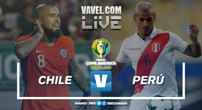 ResumenChile vs Perú, semifinal Copa América 2019