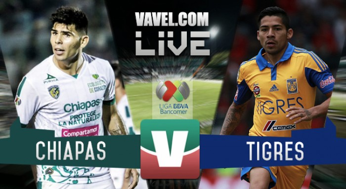 Resultado Jaguares Chiapas vsTigres en Liga MX 2016 (1-3)