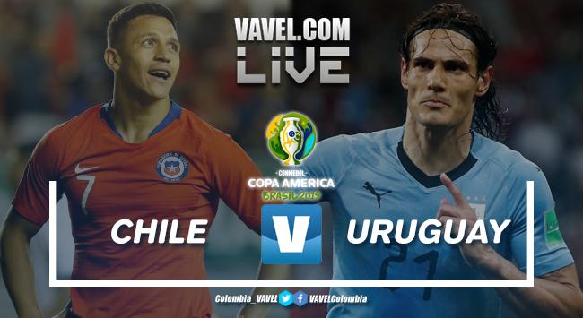 Resúmen Chile vs Uruguay por la Copa América 2019 (0-1)